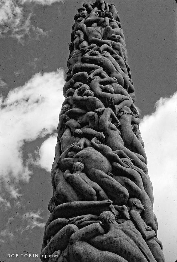 Monolith, Vigeland Park ,Oslo