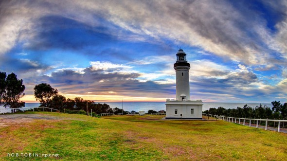 Norah Head Lighthouse at Sunrise